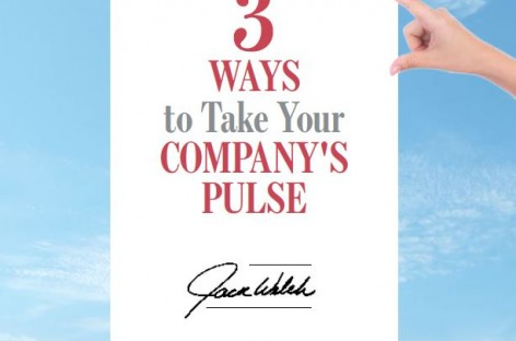 Three Ways To Take Your Companies Pulse